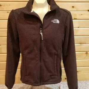 Columbia fleece zip small brown soft fuzzy